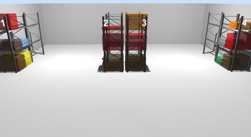 LLOG visualizando el inventario medio del almacén