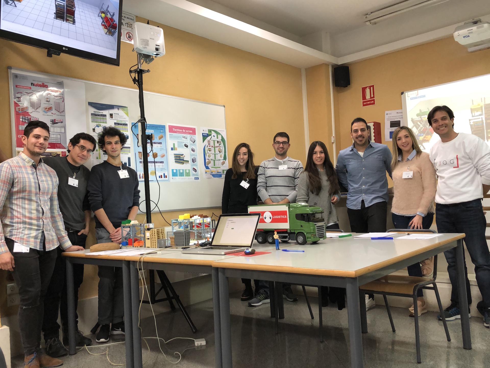 logística visual: con mis alumnos del MUIOL