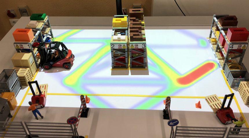 logística visual: analizando los recorridos y actividad del almacén en tiempo real