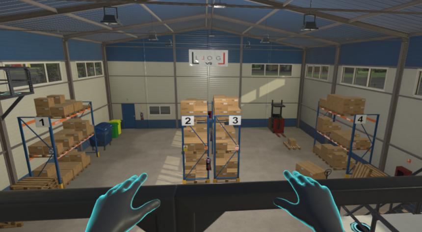 LLOG VR te ayuda a tener una visión del proceso logístico