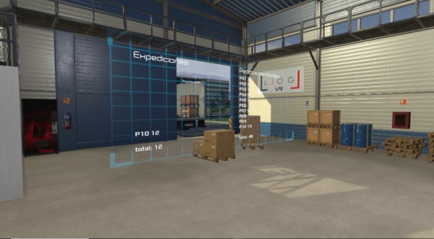 LLOG VR te avanza el futuro de la logistica visual mediante realidad aumentada.