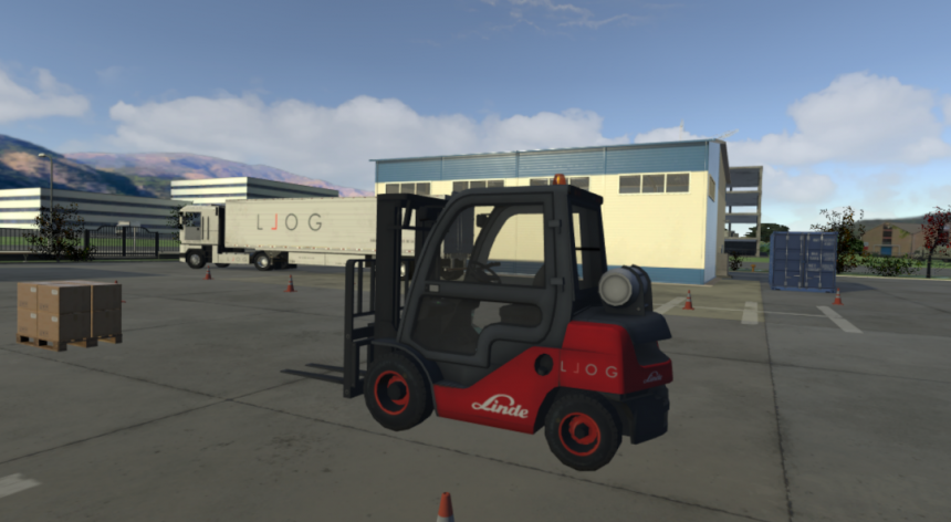 LLOG VR incluye multitud de vehículos con los que podrás interactuar