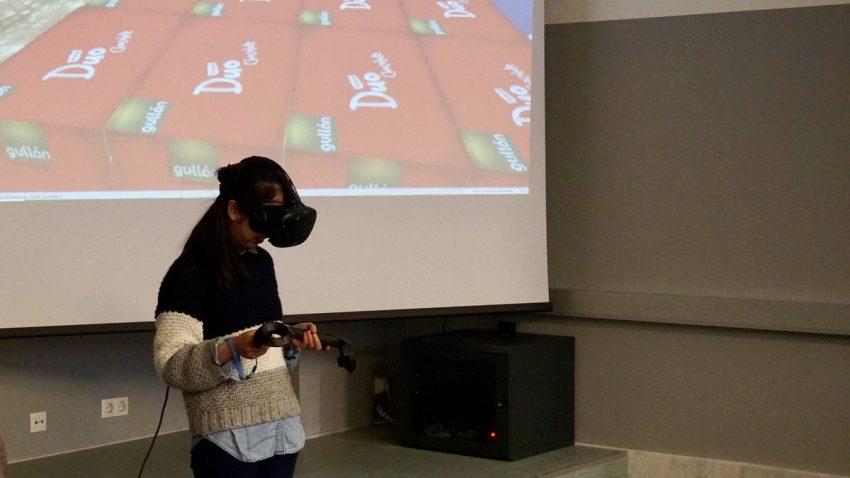 optimización del paletizado y la carga del contenedor con realidad virtual