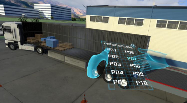 visualizando el interior de los contenedores con realidad aumentada