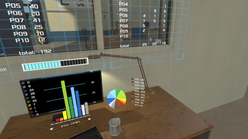 LLOG VR - cuadro de mando logístico en realidad aumentada