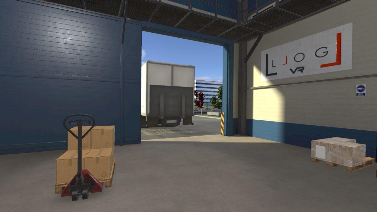 LLOG VR - recuperando un escenario previamente guardado