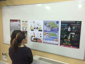 los alumnos presentan sus propuestas de mejora de diseño para la logística