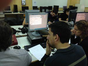 mis alumnos aprendiendo técnicas y herramientas para el DFL