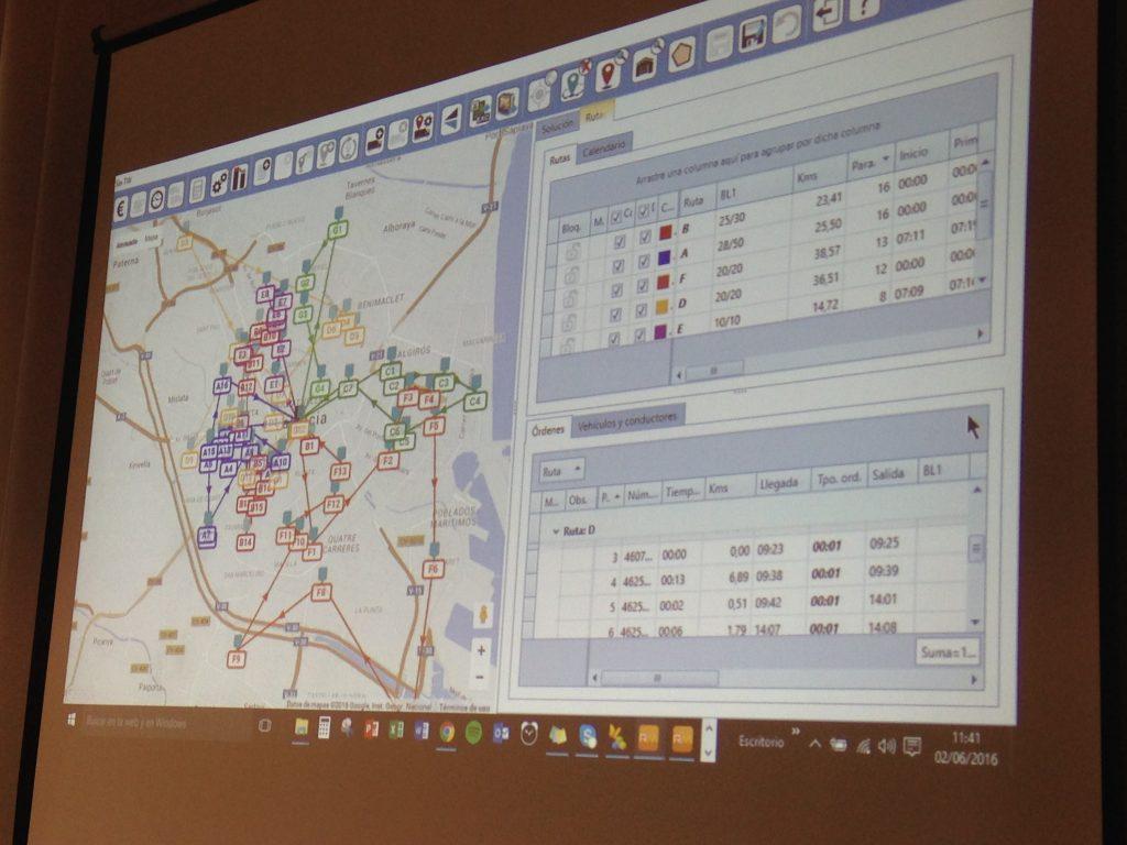 RoutingMaps fue presentado en profundidad durante la jornada Hoja de ruta para la optimización del transporte