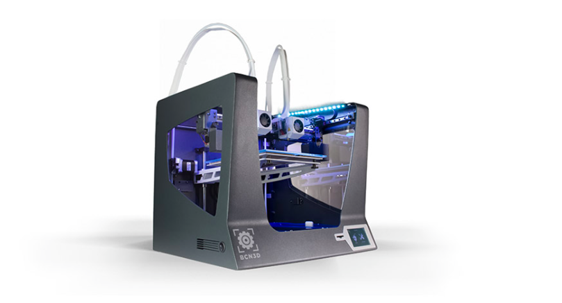 la máquina BCN3D Sigma fue la seleccionada para nuestra impresión 3D.