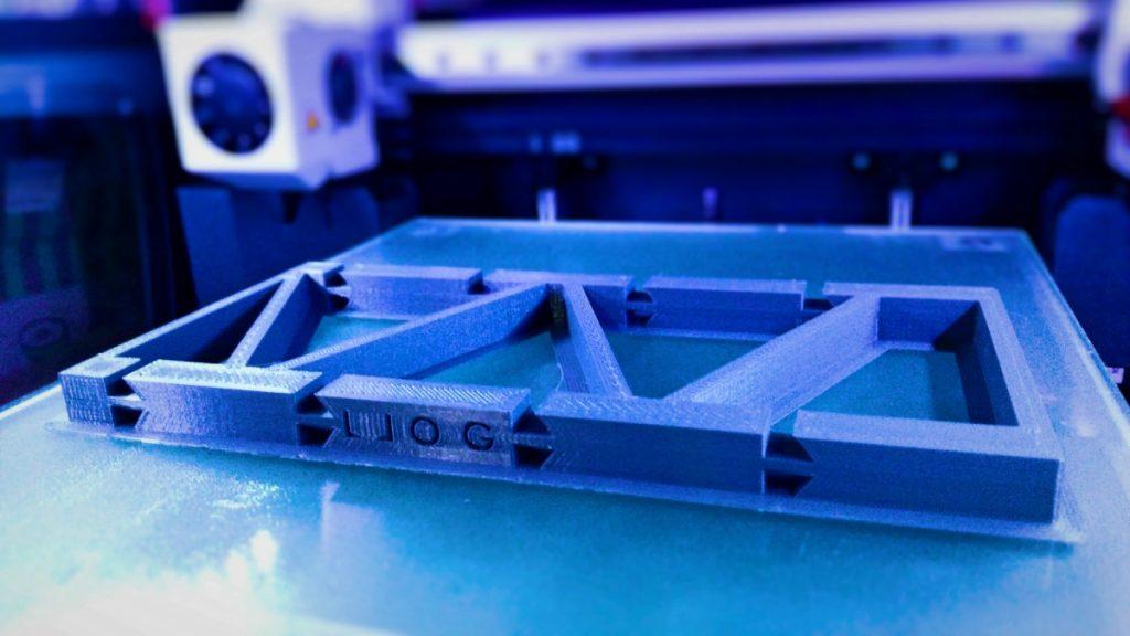la impresión 3D de la estantería de LLOG