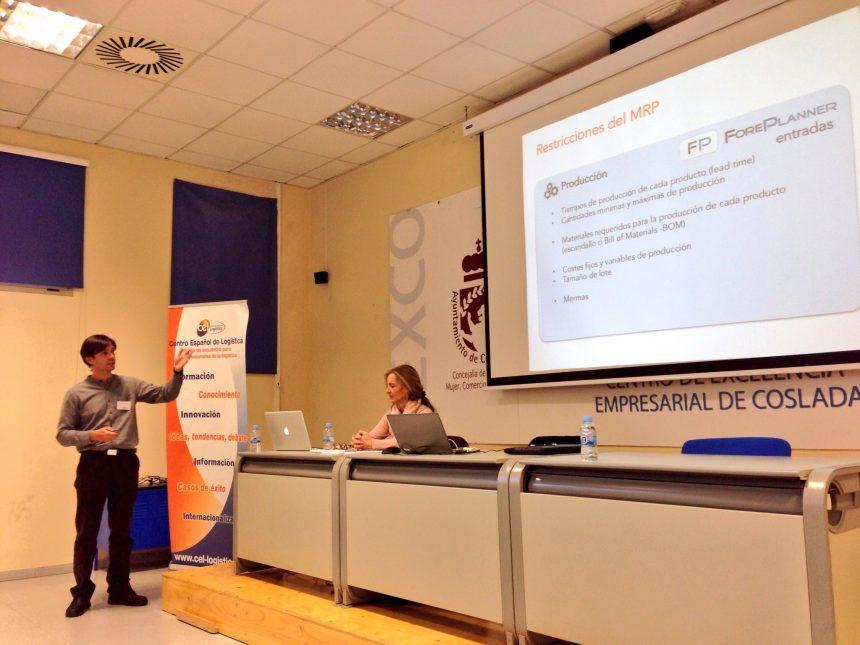 Adela Ruiz y Alejandro Rodríguez en CEL - Centro Español de Logística
